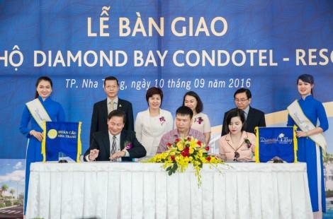 Lễ bàn giao căn hộ tại Diamond Bay Condotel - Resort